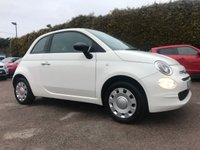 2016 FIAT 500 1.2 POP 3d  ONE LADY OWNER FROM NEW  £5500.00