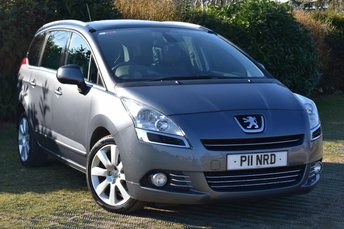 2011 PEUGEOT 5008 1.6 HDI EXCLUSIVE 5d AUTO 112 BHP £5000.00