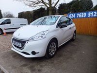 USED 2013 13 PEUGEOT 208 1.0 ACCESS 3d 68 BHP VERY CLEAN CAR!