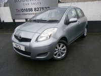 USED 2009 59 TOYOTA YARIS 1.3 TR VVT-I 5dr MOT 27TH FEB 2020