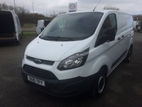 USED 2015 15 FORD TRANSIT CUSTOM 2.2 270 SWB 100 BHP