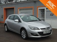 "USED 2012 62 VAUXHALL ASTRA 2.0 ELITE CDTI S/S 5d 163 BHP Leather Seats, Heated Front Seats, Cruise Control, 17"" Alloys"