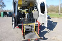 USED 2013 63 MERCEDES-BENZ SPRINTER 2.1 513 CDI LWB 1d 129 BHP MINIBUS AUTOMATIC WITH REAR WHEELCHAIR LIFT