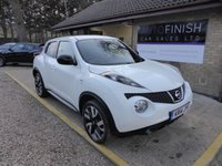 USED 2014 14 NISSAN JUKE 1.5 DCI N-TEC 5d 109 BHP * 1 KEEPER * REVERSING CAMERA * FULL SERVICE HISTORY * SATELLITE NAVIGATION * 2 KEYS *