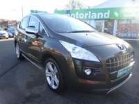 USED 2012 62 PEUGEOT 3008 1.6 ALLURE E-HDI FAP 5d AUTO 112 BHP £0 DEPOSIT FINANCE AVAILABLE... AUTOMATIC....REAR PARK SENSORS