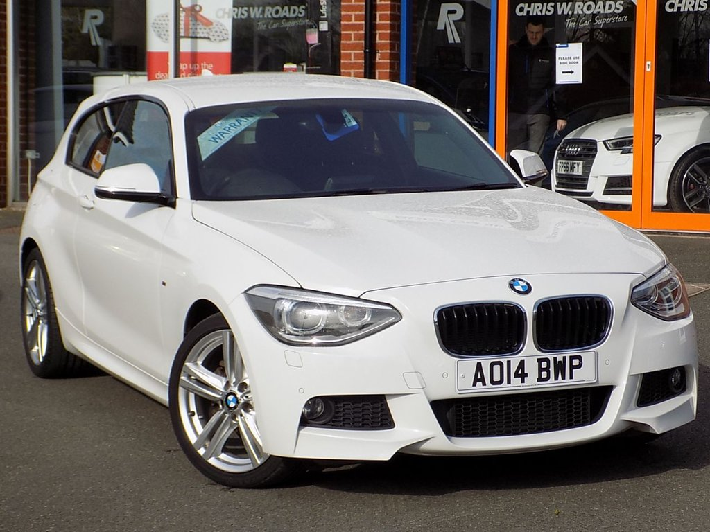 USED 2014 14 BMW 1 SERIES 1.6 118i M Sport 3dr ** Xenons + Front/Rear PDC **