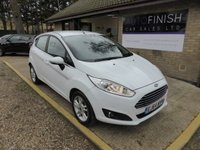 USED 2014 64 FORD FIESTA 1.2 ZETEC 5d 81 BHP * 1 KEEPER FROM NEW * FULL SERVICE HISTORY * 2 KEYS * £30 ROAD TAX *