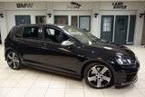 USED 2016 66 VOLKSWAGEN GOLF 2.0 R DSG 5d AUTO 298 BHP FINISHED IN STUNNING BLACK WITH SPORT CLOTH SEATS + VW SERVICE HISTORY + SATELLITE NAVIGATION + XENON HEADLIGHTS + HEATED FRONT SEATS + BLUETOOTH + 18 INCH ALLOYS + DAB RADIO + BLUETOOTH