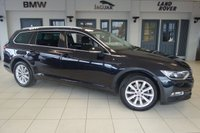 USED 2017 66 VOLKSWAGEN PASSAT 2.0 SE BUSINESS TDI BLUEMOTION TECH DSG 5d AUTO 148 BHP full vw service history FINNISHED IN STUNNING PANTHER BLACK WITH ANTHRACITE CLOTH SEATS + FULL VW SERVICE HISTORY + SATELLITE NAVIGATION + 1 OWNER + BLUETOOTH + DAB RADIO + CRUISE CONTROL + PRIVICY GLASS