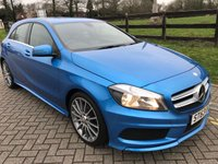 2013 MERCEDES-BENZ A-CLASS 1.5 A180 CDI BLUEEFFICIENCY AMG SPORT 5d 109 BHP £12850.00