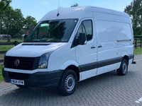 USED 2014 14 VOLKSWAGEN CRAFTER 2.0 CR35 TDI H/R P/V 1d 107 BHP
