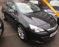USED 2013 63 VAUXHALL ASTRA 1.4 GTC SPORT S/S 3d 138 BHP
