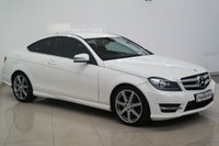 2012 MERCEDES-BENZ C CLASS 2.1 C220 CDI BLUEEFFICIENCY AMG SPORT PLUS 2d AUTO 168 BHP £9450.00