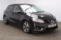 USED 2015 15 NISSAN PULSAR 1.5 TEKNA DCI 5DR 110 BHP FREE ROAD TAX NISSAN SERVICE HISTORY + FREE 12 MONTHS ROAD TAX + HEATED LEATHER SEATS + SATELLITE NAVIGATION + 360 DEGREE CAMERA + BLUETOOTH + CRUISE CONTROL + MULTI FUNCTION WHEEL + CLIMATE CONTROL + DAB RADIO + ELECTRIC WINDOWS + ELECTRIC MIRRORS + 17 INCH ALLOY WHEELS