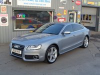 USED 2011 61 AUDI A5 2.0 SPORTBACK TDI QUATTRO S LINE 5d 168 BHP  59K MUST BE SEEN  ONLY 59K