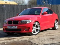 2012 BMW 1 SERIES 2.0 118D SPORT 2d 141 BHP £7900.00