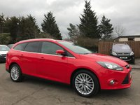 2011 FORD FOCUS 1.6 TDCI ZETEC ESTATE 5d WITH APPEARANCE PACK, PRIVACY GLASS, ALLOYS £SOLD