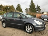 2010 FORD S-MAX 1.8 TDCI ZETEC 6SPD 5d VERY LOW MILEAGE EXAMPLE £7000.00