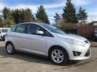 2013 FORD C-MAX 1.6 TDCI ZETEC 5d WITH SAT NAV AND FULL FORD SERVICE HISTORY £6000.00