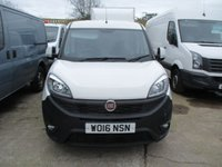 USED 2016 16 FIAT DOBLO 1.6 16V SX MULTIJET L2 H1 105 BHP NEW SHAPE FIAT WARRANTY 2016 16 DOBLO MAXI L2 LWB FIAT WARRANTY APPLIES