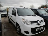 USED 2016 66 RENAULT KANGOO 1.5 ML19 BUSINESS PLUS DCI 1d 90 BHP WITH AIR CON 2016 66 KANGOO PLUS VAN 1 OWNER FROM NEW LINED  RENAULT WARRANTY APPLIES