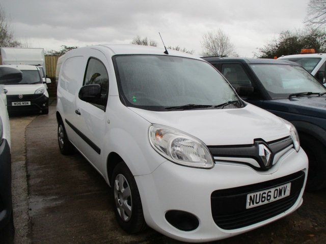 2016 66 RENAULT KANGOO 1.5 TURBO DIESEL DCI VAN ML19 BUSINESS PLUS 90 BHP AC  MANUAL WHITE