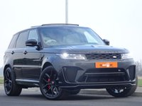 USED 2019 68 LAND ROVER RANGE ROVER SPORT  5.0  V8 Supercharged SVR CommandShift 2 AWD (s/s) 5dr