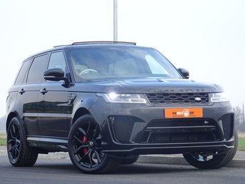 2019 LAND ROVER RANGE ROVER SPORT  5.0  V8 Supercharged SVR CommandShift 2 AWD (s/s) 5dr £105000.00