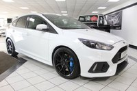 USED 2017 17 FORD FOCUS 2.3 RS 350 BHP SHELL SEATS FORGE ALLOYS FFSH! SYNC 3 SONY SOUND