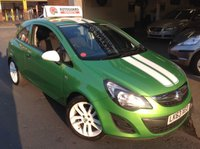 USED 2013 63 VAUXHALL CORSA 1.2 STING AC  ONE  OWNER