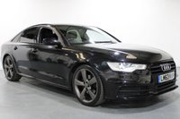 USED 2013 63 AUDI A6 2.0 TDI S LINE BLACK EDITION 4d AUTO 175 BHP