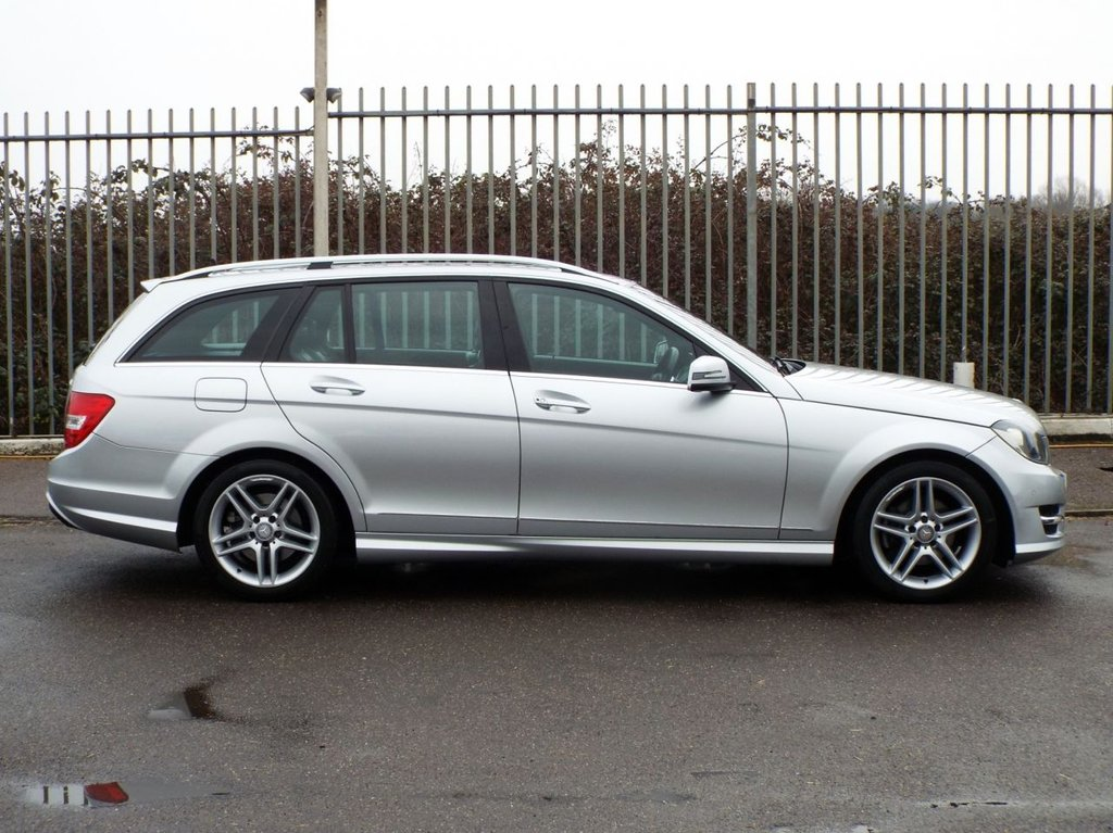 USED 2013 63 MERCEDES-BENZ C CLASS 2.1 C250 CDI BLUEEFFICIENCY AMG SPORT 5d 202 BHP