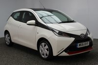 USED 2016 16 TOYOTA AYGO 1.0 VVT-I X-PLAY 5DR 69 BHP FULL SERVICE HISTORY FREE ROAD TAX  FULL SERVICE HISTORY + FREE 12 MONTHS ROAD TAX + BLUETOOTH + CRUISE CONTROL + MULTI FUNCTION WHEEL + AIR CONDITIONING + XENON HEADLIGHTS + DAB RADIO + ELECTRIC WINDOWS + ELECTRIC MIRRORS