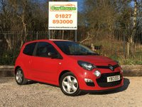 USED 2013 13 RENAULT TWINGO 1.2 DYNAMIQUE 3dr Air Con, Cruise, Alloys