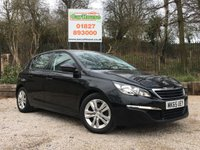 USED 2015 65 PEUGEOT 308 1.6 BLUE HDI S/S ACTIVE 5dr Sat Nav, PDC, Cruise, £0 Tax