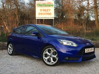 USED 2013 63 FORD FOCUS 2.0 ST-3 5dr Heated Leather, PDC, Xenons