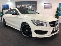 USED 2015 MERCEDES-BENZ CLA 2.1 CLA220 CDI AMG SPORT 5d AUTO 174 BHP F/M/S/H GREAT SPEC! MUST SEE!