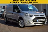 USED 2015 15 FORD TRANSIT CONNECT 1.6 240 TREND P/V 1d 94 BHP 2015 Ford Transit connect 1.6tdci TREND L2 in silver metallic with service history and 2 keys.