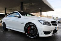 USED 2013 13 MERCEDES-BENZ C CLASS 6.2 C63 AMG 2d 457 BHP