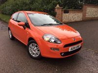 2014 FIAT PUNTO 1.2 EASY 3d 69 BHP PLEASE CALL TO VIEW £4650.00