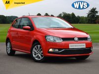 USED 2015 15 VOLKSWAGEN POLO 1.0 SE 3d 60 BHP A well maintained 2015 Vw Polo 1.0 60 SE 3dr in red with just 26000 miles. Complete with an AA inspection report, 2 keys and 4 Vw service stamps.