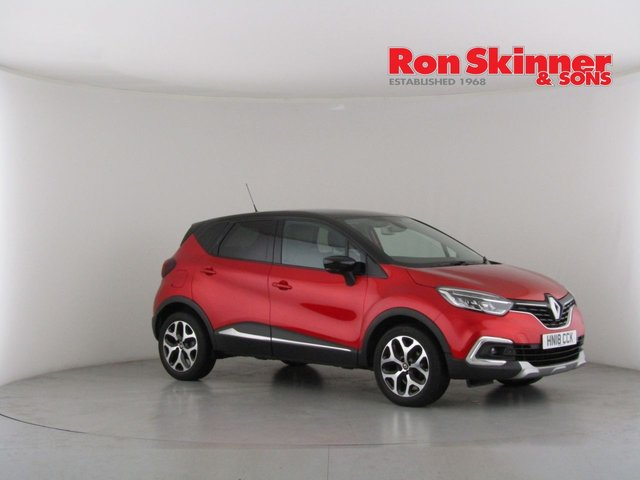 View our 2018 18 RENAULT CAPTUR 1.5 SIGNATURE X NAV DCI 5d 110 BHP with Black Roof