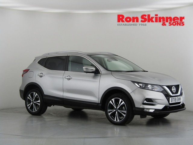 View our 2018 18 NISSAN QASHQAI 1.5 N-CONNECTA DCI 5d 108 BHP with Glass Roof