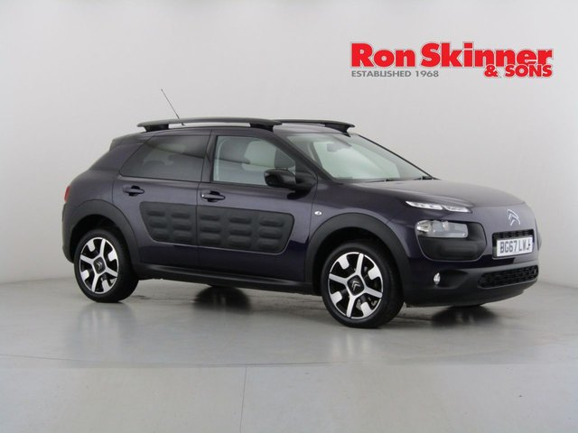 View our 2017 67 CITROEN C4 CACTUS 1.2 PURETECH FLAIR 5d 80 BHP
