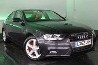 2012 AUDI A4 2.0 TDI SE TECHNIK 4d 141 BHP £9500.00