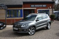USED 2015 64 VOLKSWAGEN TIGUAN 2.0 R LINE TDI BLUEMOTION TECH 4MOTION DSG 5d AUTO 175 BHP 1 OWNER FROM NEW! FULL SERVICE HISTORY!