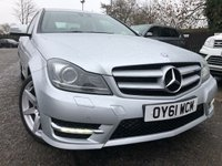 2011 MERCEDES-BENZ C-CLASS 1.8 C180 BLUEEFFICIENCY AMG SPORT EDITION 125 2d 156 BHP £10781.00