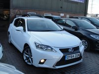 USED 2014 64 LEXUS CT 1.8 200H ADVANCE 5d AUTO 134 BHP ANY PART EXCHANGE WELCOME, COUNTRY WIDE DELIVERY ARRANGED, HUGE SPEC