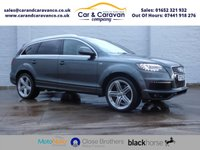 USED 2012 62 AUDI Q7 3.0 TDI QUATTRO S LINE PLUS 5d AUTO 245 BHP Full History NAV Leather A/C Buy Now, Pay Later Finance!