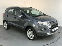 USED 2017 67 FORD ECOSPORT 1.5 TITANIUM 5d AUTO 110 BHP ONE OWNER - FORD SERVICE HISTORY - REAR PARKING SENSOR - AIR CON - AUX/USB - HALF LEATHER SEAT